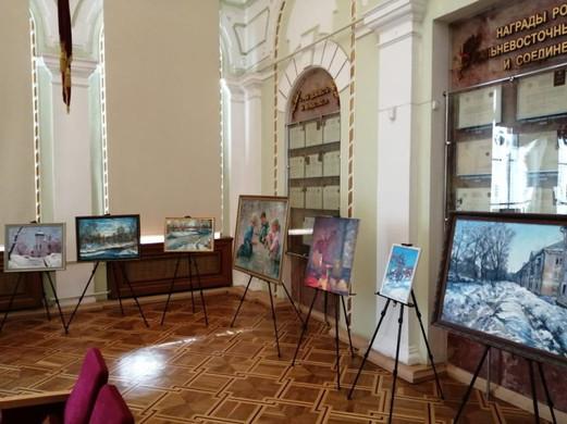 Выставка в военно-историческом музее
