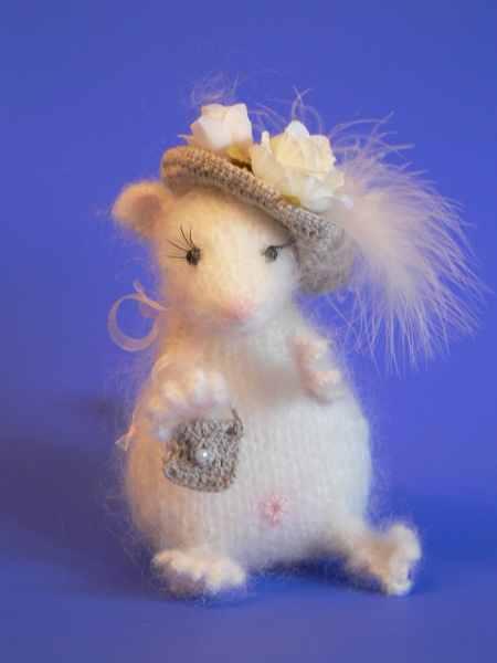 Мышка. Вязание.
