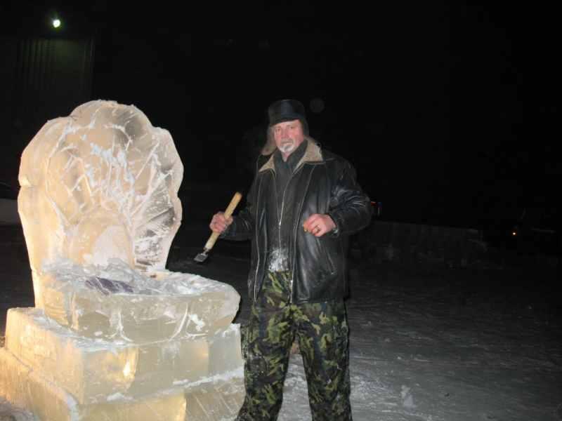 Ледовые скульптуры разных лет (2)
