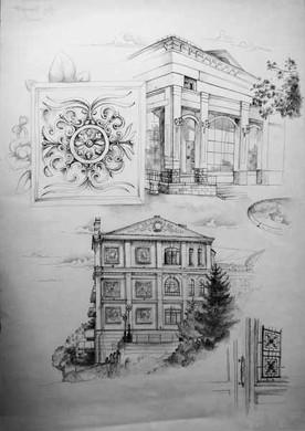 "Белаш Е. ""Исторический центр Хабаровска. Зарисовки"""