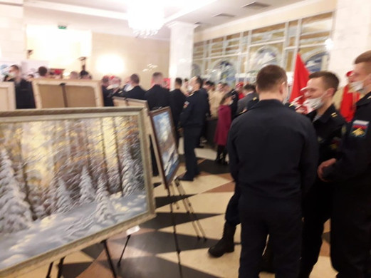 Открытие выставки в ГДК