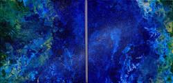 Диптих, Звездная пыль,  40х80