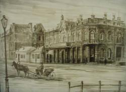Доходный дом Пьянковых (0.40Х0.30) акварель