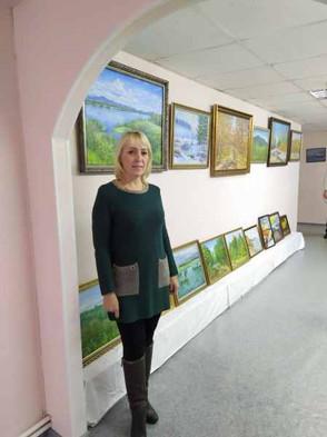 Выставка Казмирчук Лилии