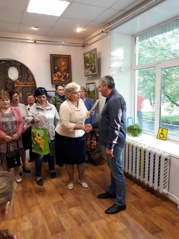 Вяземский. Открытие выставки  (24)