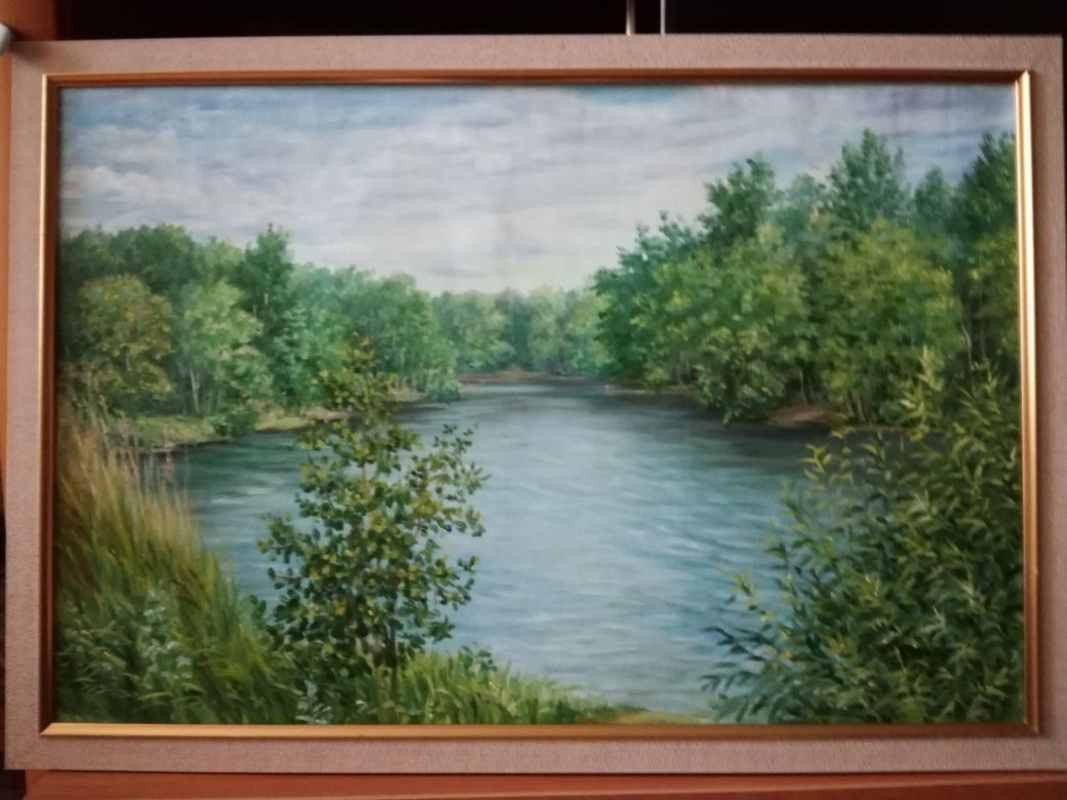 Краснореченское озеро 40х60 хм