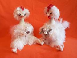 Петушок и Курочка. Вязание