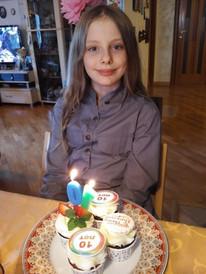 День рождения дочки