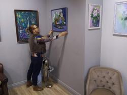 Подготовка к выставке (7)
