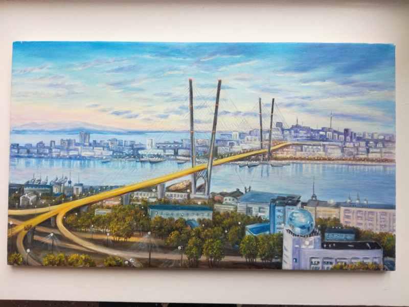 Владивосток х м 35х60