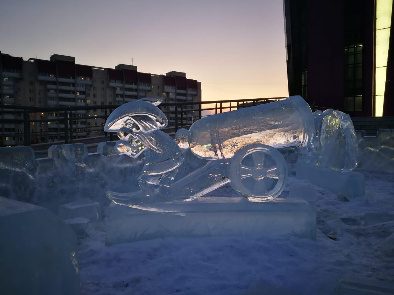 Ледовые будни