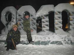 Ледовые скульптуры разных лет (15)