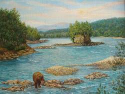 Медвежья добыча 60х50 х.м.