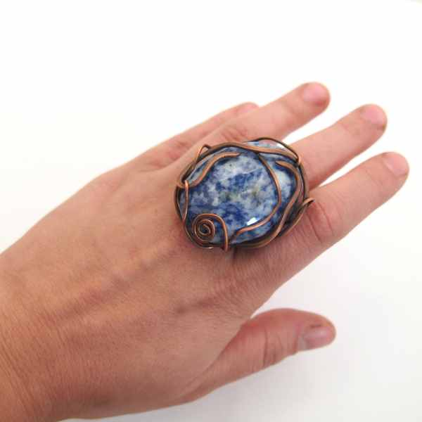 Перстень с содалитом (1)