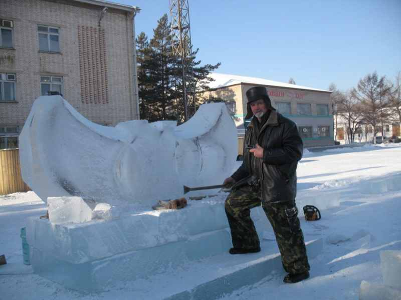 Ледовые скульптуры разных лет (12)