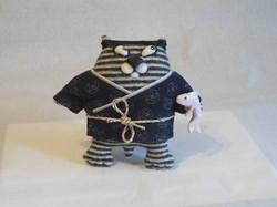 Кот в кимоно.