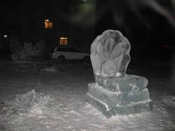 Ледовые скульптуры разных лет (10)