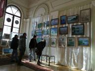 Открытие персональной выставки