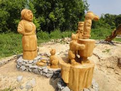 Деревянная скульптура