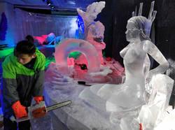 Ледовый конкурс. Китай