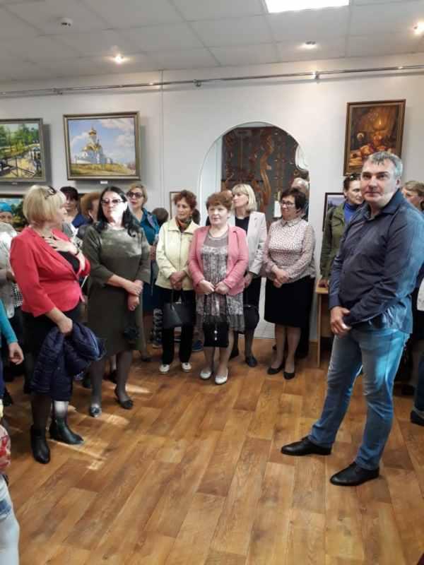 Вяземский. Открытие выставки  (9)