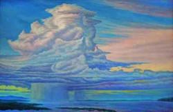 Облако над Амуром х.м. 40х60