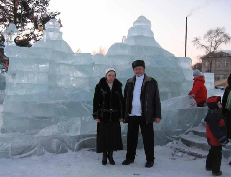 Ледовые скульптуры разных лет (3)