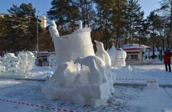Конкурс снежных скульптур (4)