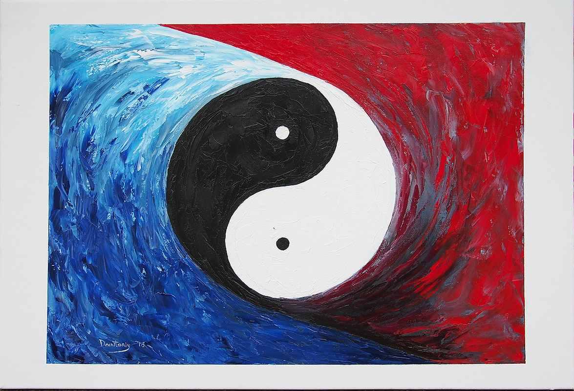Пленер июль 2016 Китай, Бэдайхэ х.м. 50х70 (7)