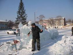 Ледовые скульптуры разных лет (14)