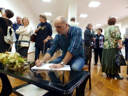 На выставке Фефелова Павла Лукича