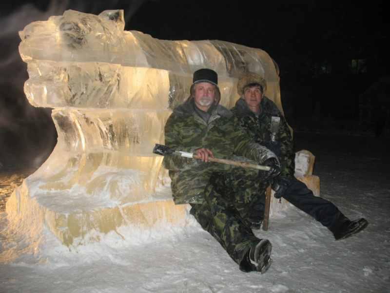 Ледовые скульптуры разных лет (11)
