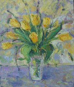 Тюльпаны 60х50 х.м. 2011