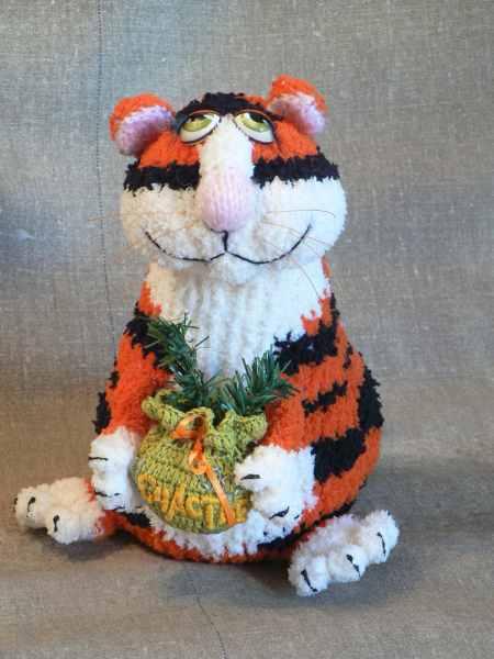 Тигруша. Вязание.