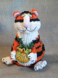Тигруша. Вязание