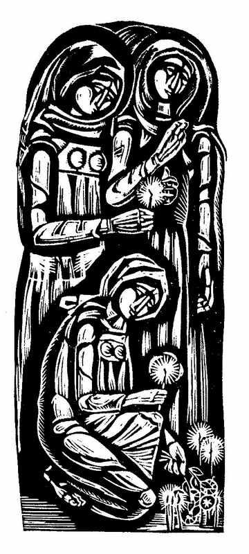 Триптих Плачь (лев. часть, линогр.