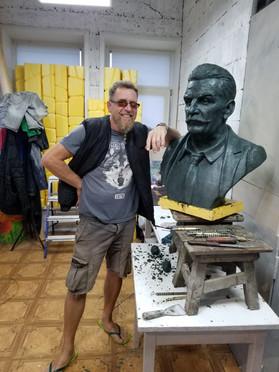 Бюст Мекерову Б.Т.