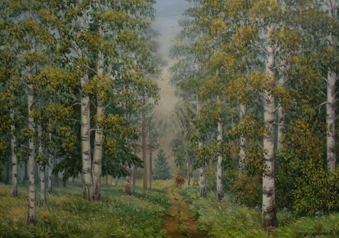 Грибной лес 70х60 х.м.