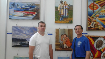 Выставка в Тунцзяне