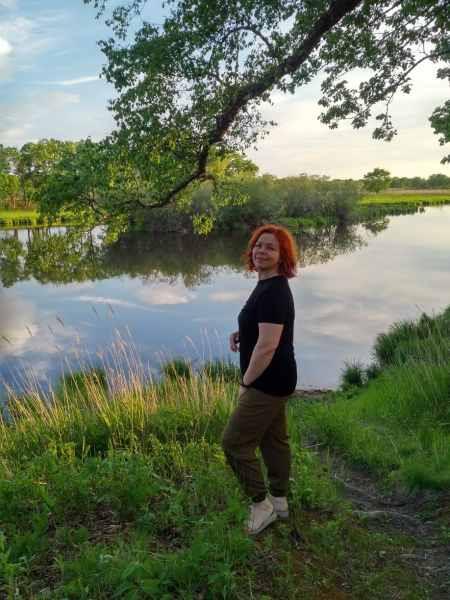 Пленэр на реке Кия