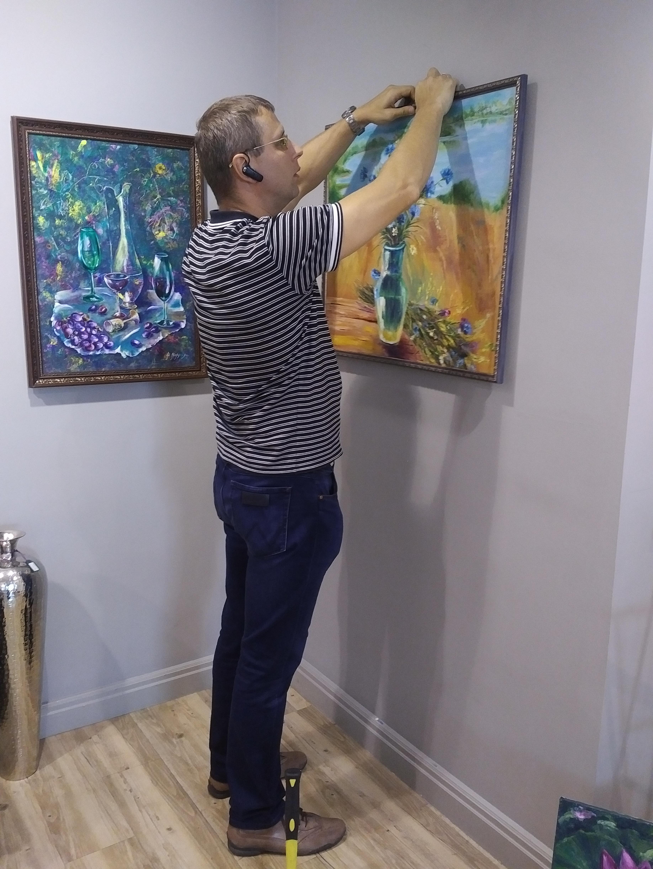 Подготовка к выставке (6)