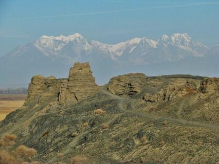 Сбор материала в горах