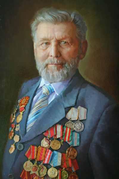 Ветеран. (х.м.) 50х80, 2012г.