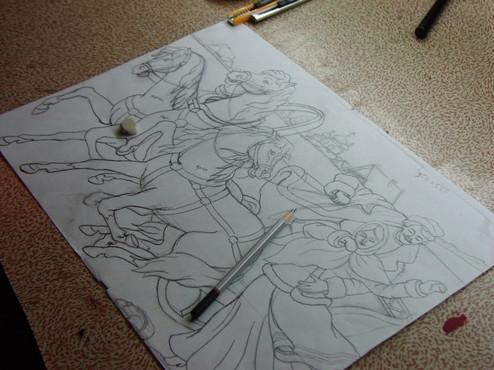 01. Рисунок (калька)