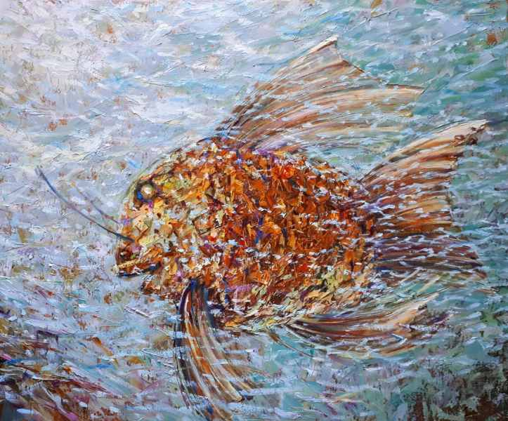 Рыба желаний 50×60 хм