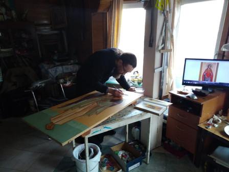Работа в мастерской