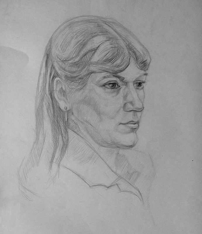 Портрет б., кар.