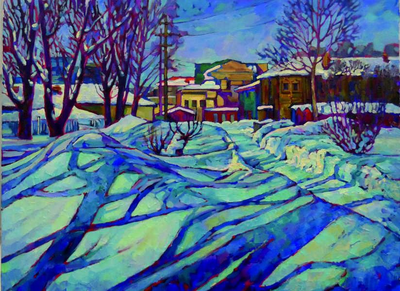 Зима. (х.м.) 2016 г. 60х80
