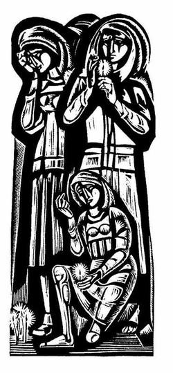 Триптих Плачь (прав. часть, линогр