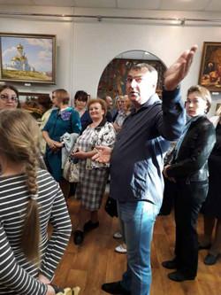 Вяземский. Открытие выставки  (7)
